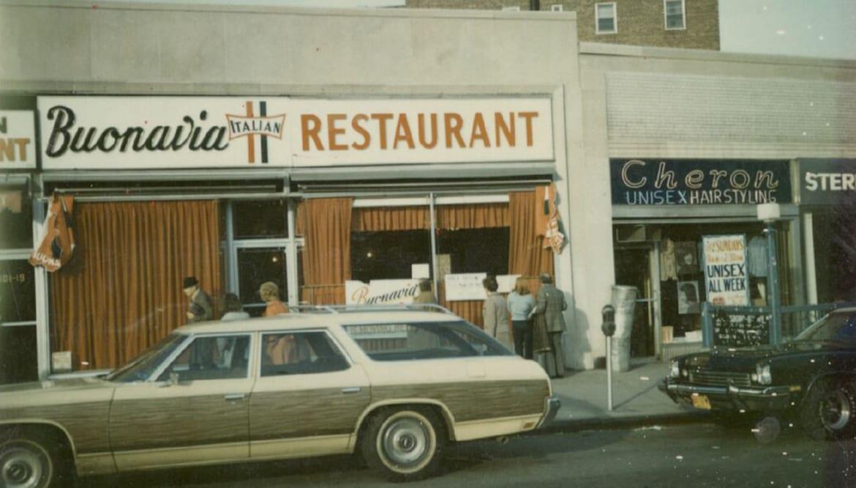 Chef Lidia Bastianich's first restaurant, Buonavia,