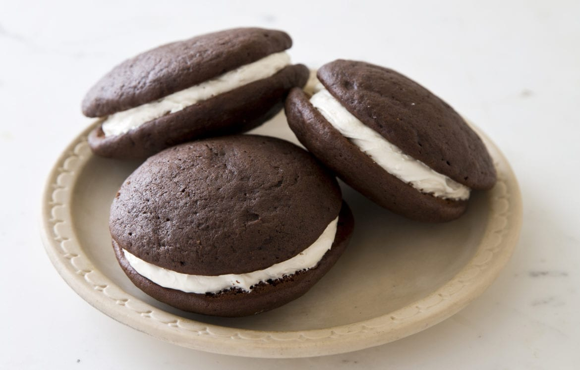 """This recipe for whoopie pies pies appears in the cookbook """"The Perfect Cookie."""""""