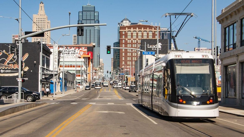 the Kansas City streetcar