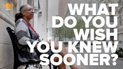 What Do You Wish You Knew Sooner?