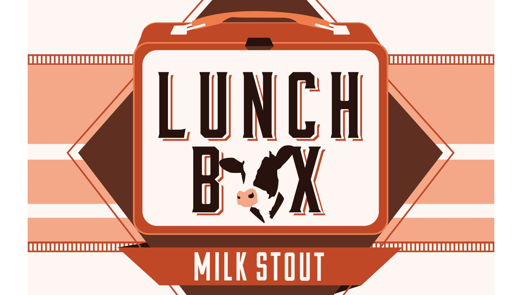 Cinder Block Brewery's Lunch Box Milk Stout