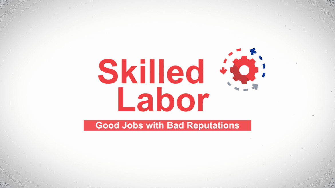 skilled labor graphic