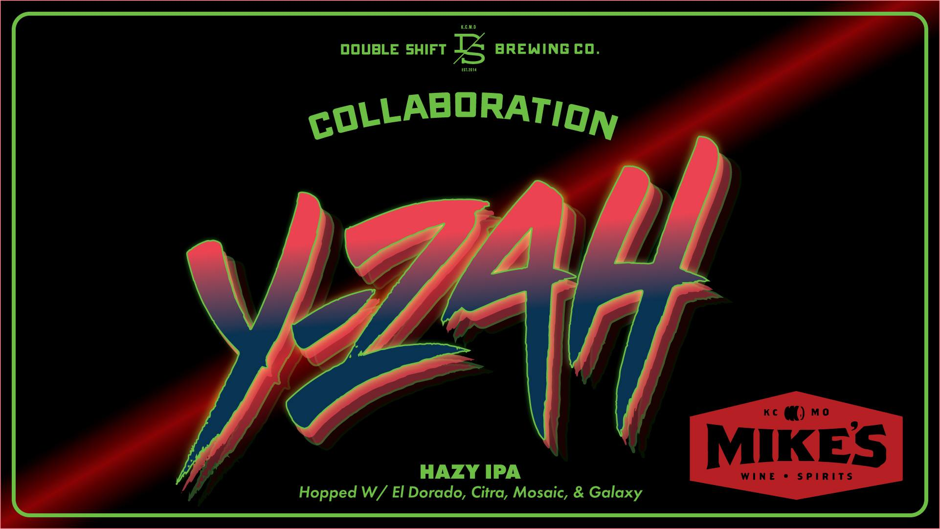Y-Zah is a new collaboration IPA