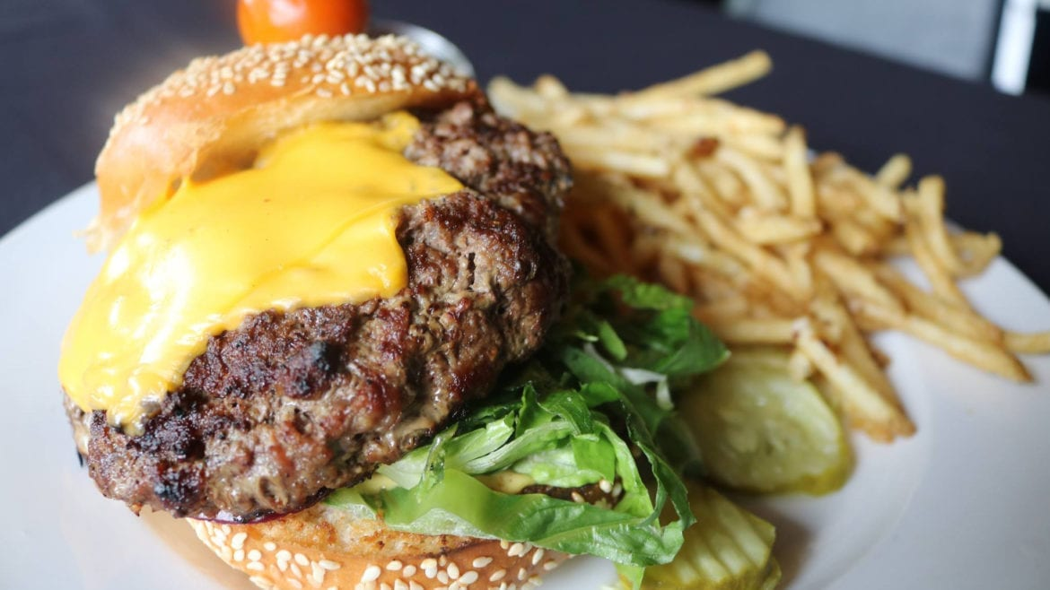 Summit Grill serves American classics like a cheeseburger