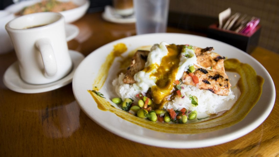 The tandoori-style mahi mahi is one of the dishes on Zen Zero's menu