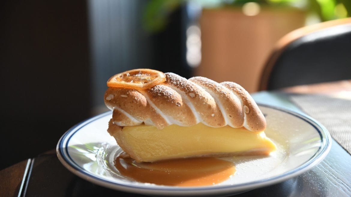 Rye is serving its lemon meringue pie