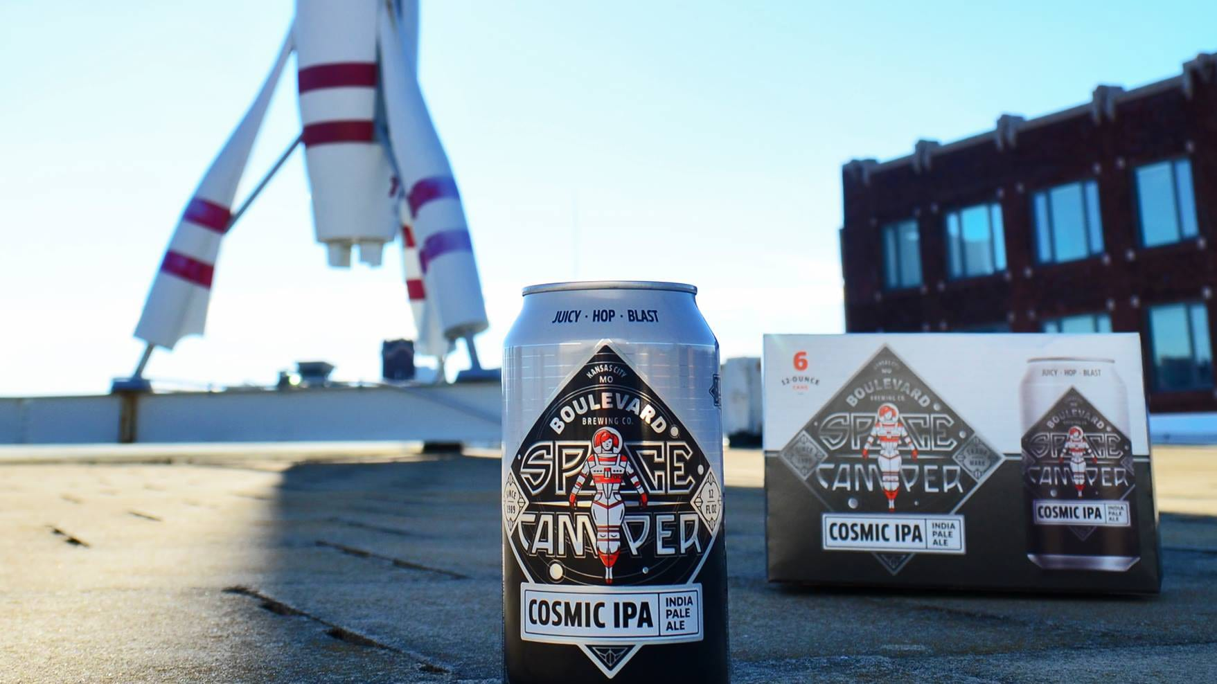Boulevard Brewing Co.'s Space Camper Cosmic IPA