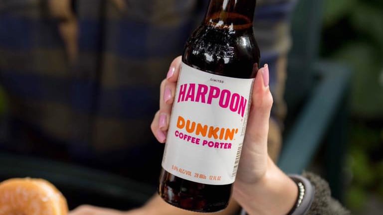 Harpoon Brewery's Dunkin' Coffee Porter