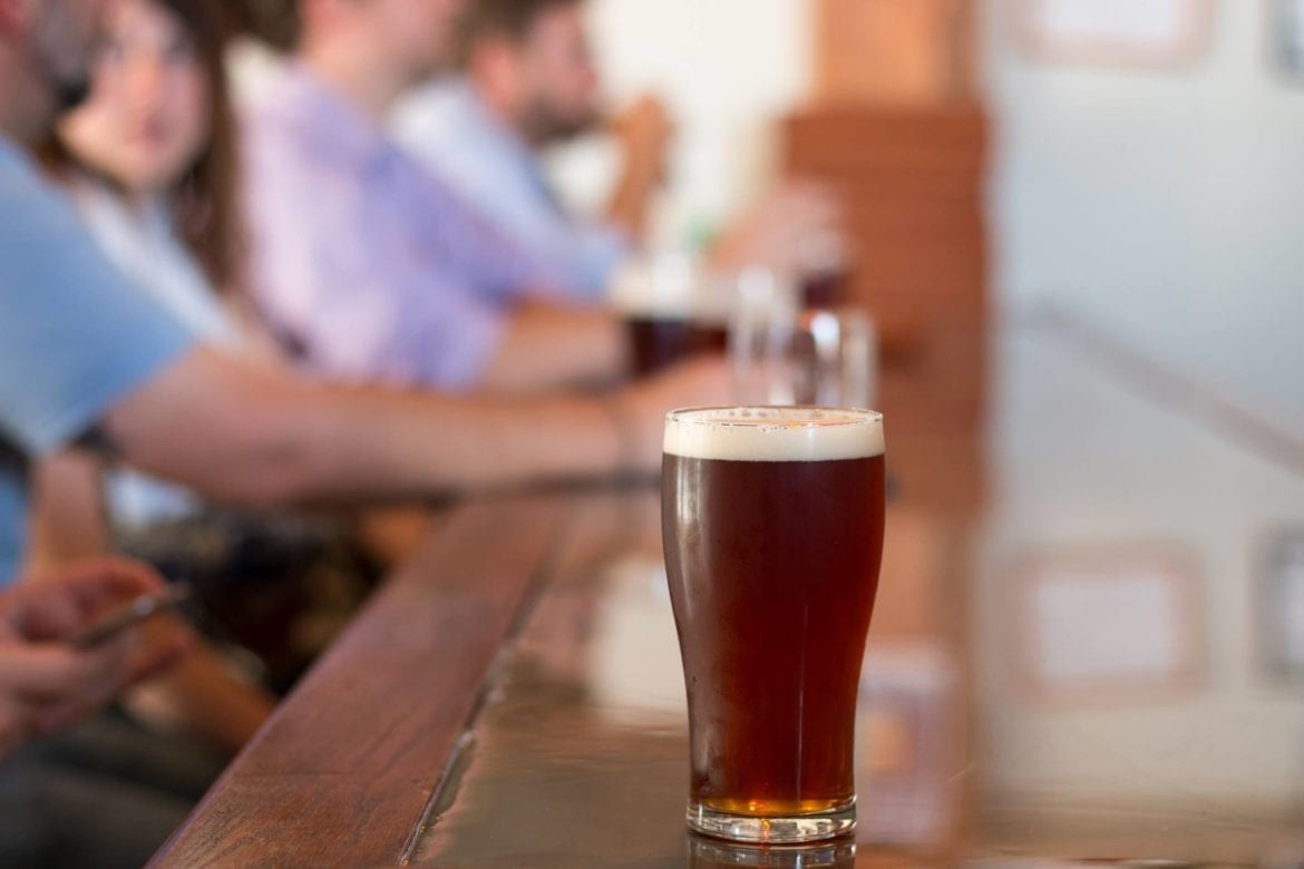 Border Brewing Co. is offering beermosas on New Year's Day.