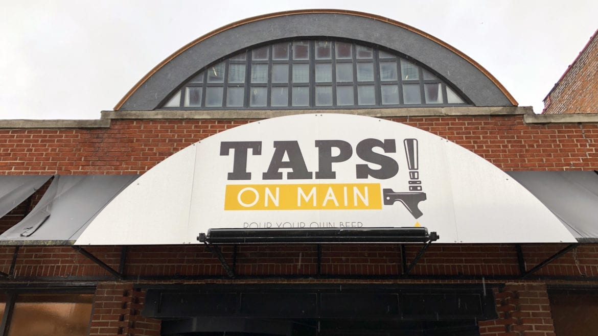Taps on Main, a new self-serve beer bar,