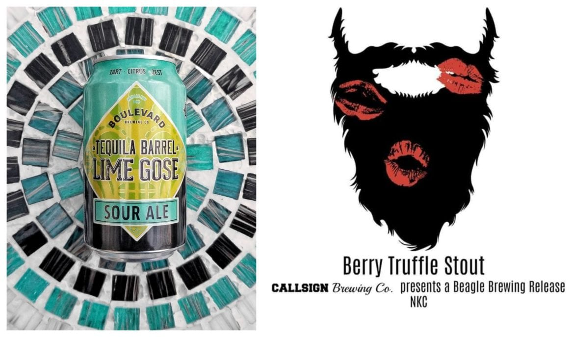 Tequila Barrel Lime Gose and Berry Truffle Stout