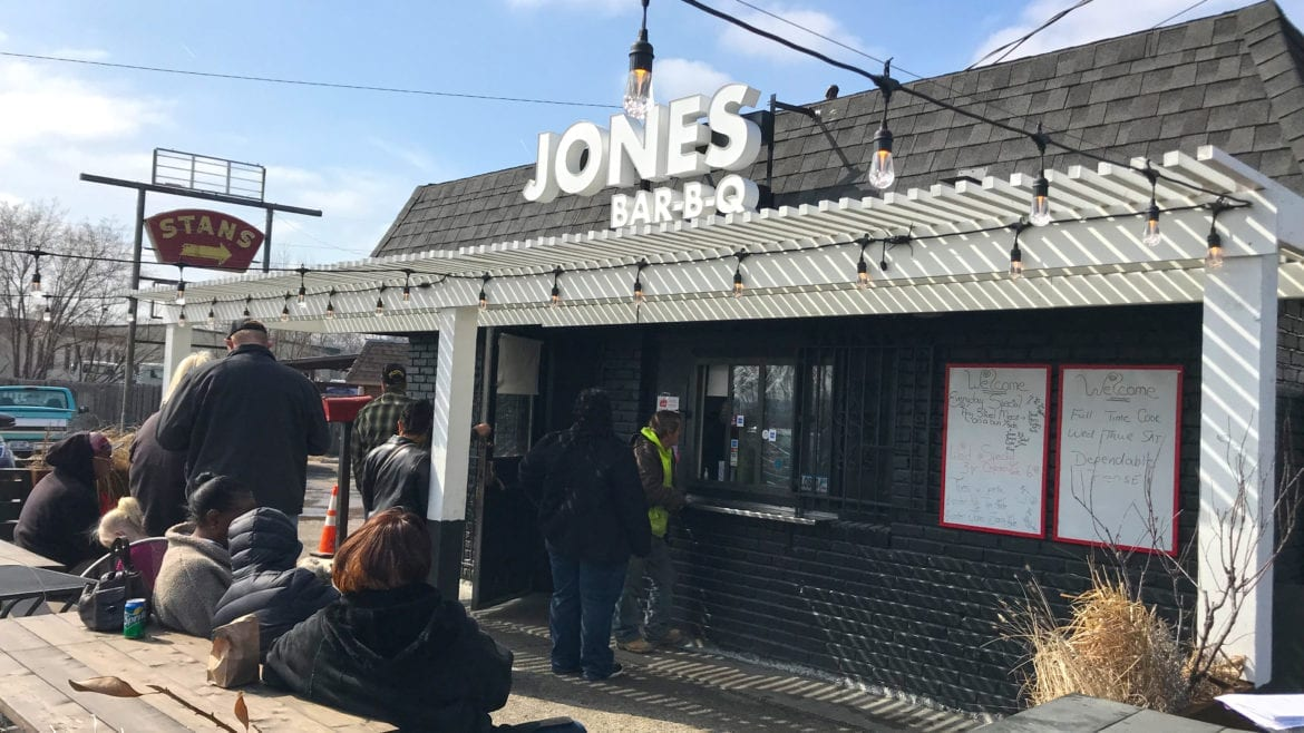 Jones BBQ in Kansas City, Kansas,