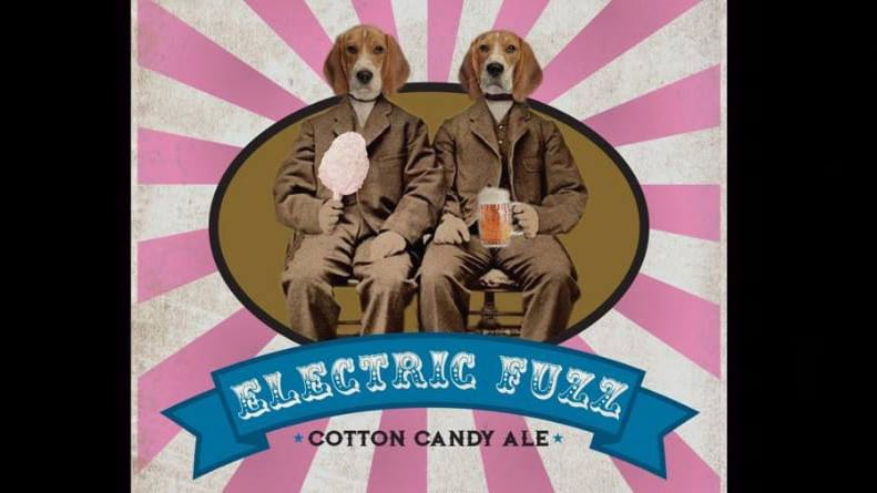 Electric Fuzz, a cotton candy ale,