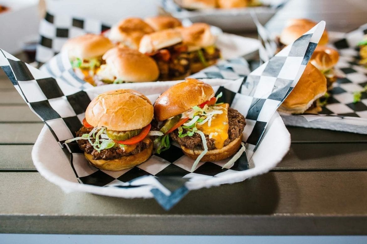 Buns Up is a new spot serving sliders in Parlor, a food hall in the Crossroads.