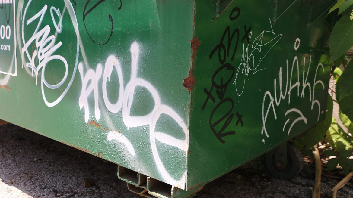 picture of mope and awake graffitic