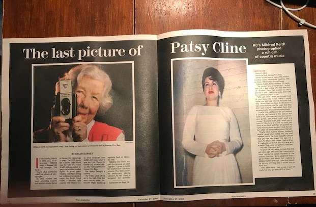 Pictures of Mildred Keith and Patsy Cline
