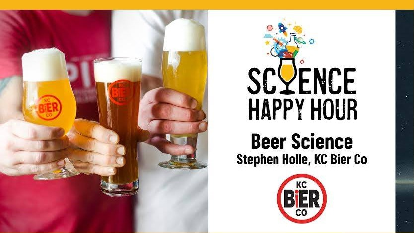 Stephen Holle from KC Bier Co. is hosting a beer science session at the Museum at Prairiefire this week.