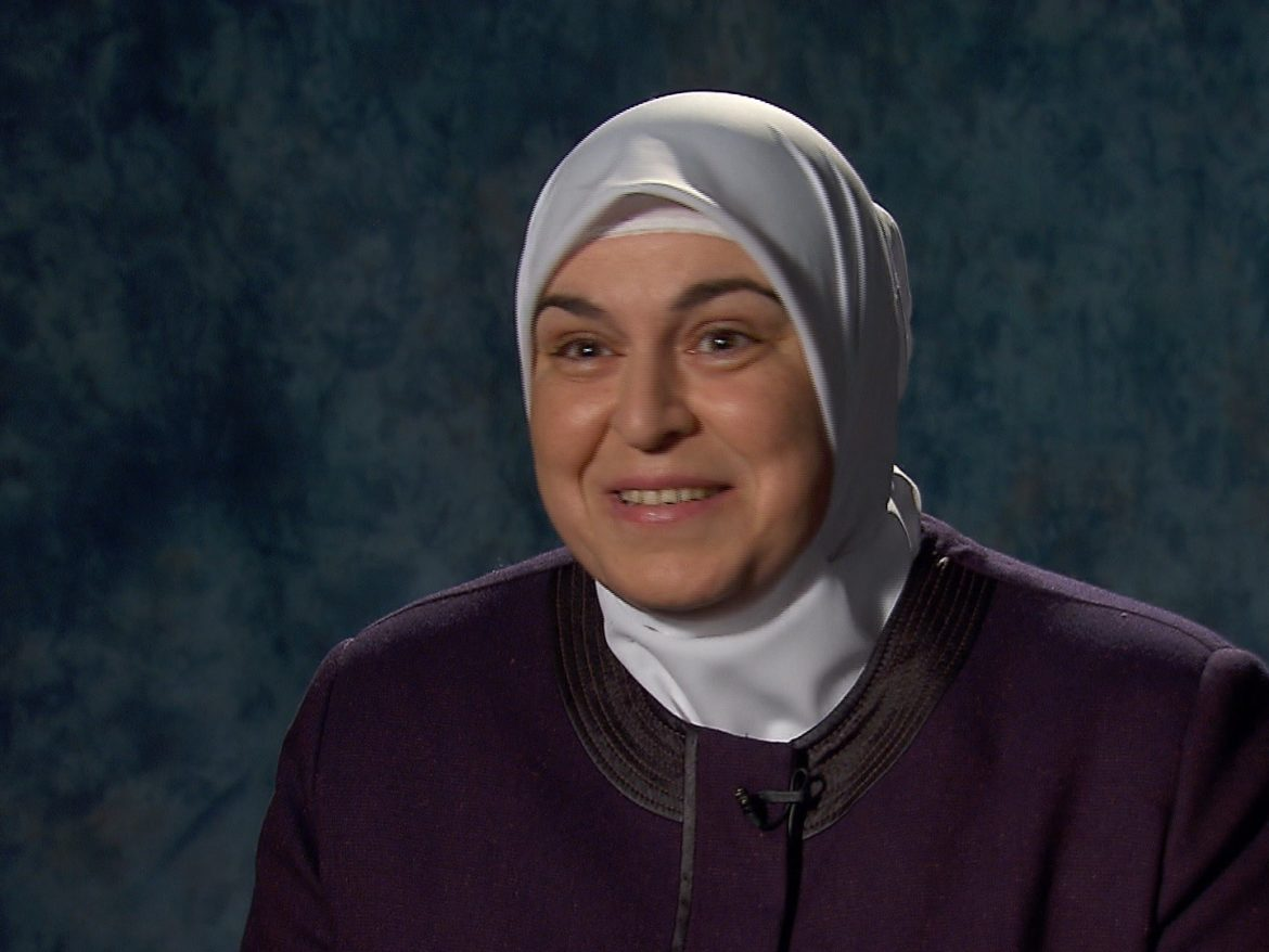 Hanadi Almansour and her family came to the United States from war-torn Syria.