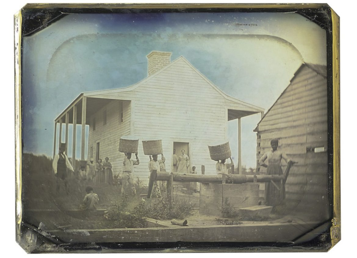 The Hall Family Foundation has given the Nelson-Atkins Museum of Art what may be the earliest photographic image of slavery in America.