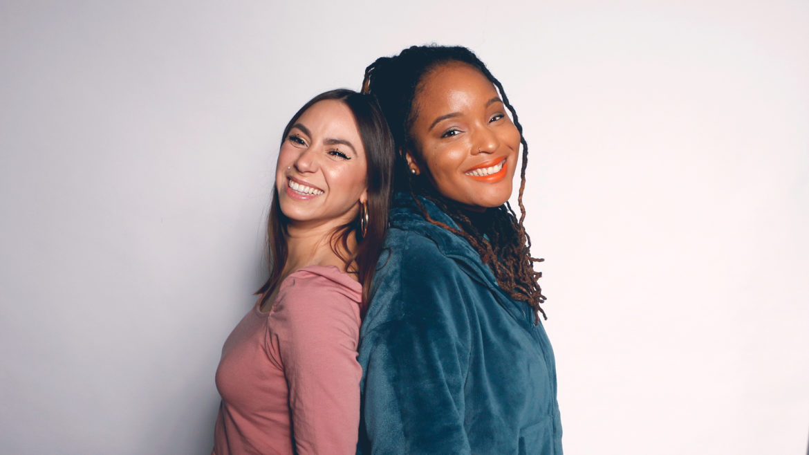 Ieshia and Vicky, Filter podcast hosts