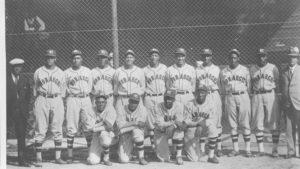 Kansas City Monarchs team photo from 1934