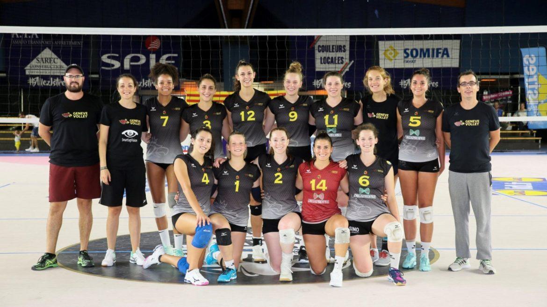 Geneve Volley team in Switzerland.
