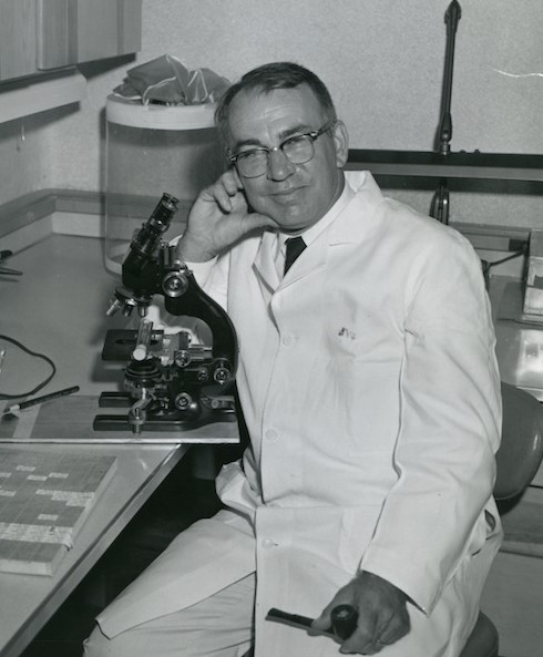 Herbert Wenner, physician and pediatrics professor at the University of Kansas Medical Center, helped lead local research that led to the Jonas Salk polio vaccine, announced in 1955.