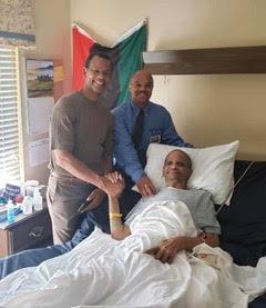 Ajamu Webster (left),  David Haley and Alvin Sykes.