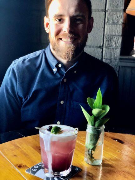 Brady's  Public House bar manager Ryan Rafferty.
