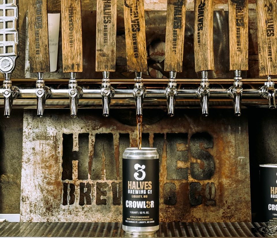 Taps at 3Halves Brewing Co.