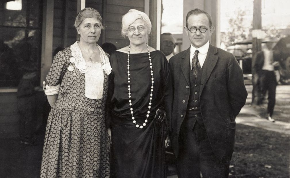 Florence Brown Sherbon with American Eugenics Society colleagues