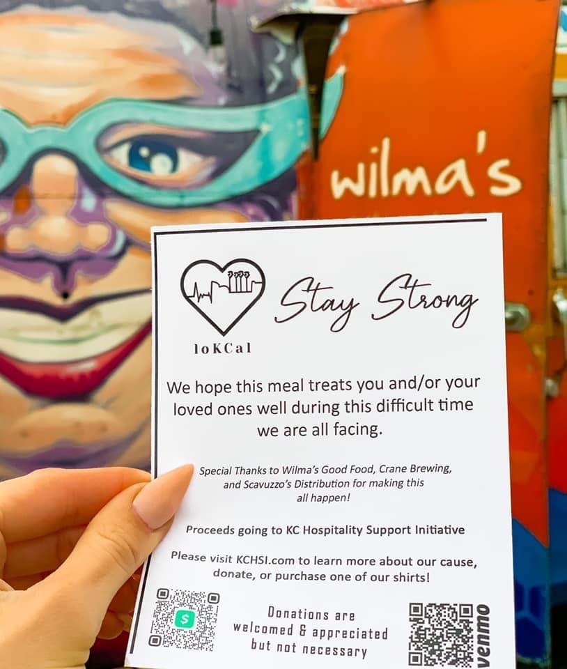 Wilma's Good Food, a stationary food truck at Crane's Brewing Co., recently raised over $850 in donations during a fried chicken pop-up event.