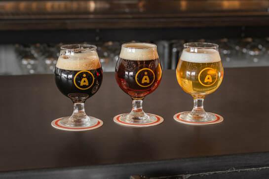 Apex Aleworks beers.