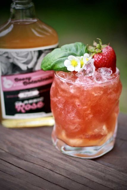 The Strawberry Basil Rose
