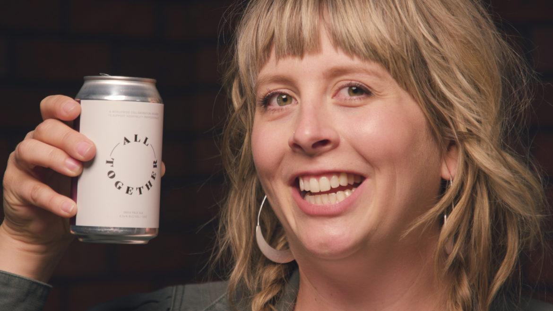 Beer enthusiast Cassie Niemeyer