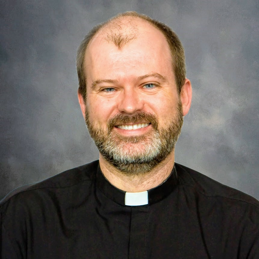 Rev. Justin Hoye, priest at St. Thomas More Catholic Church in Kansas City.