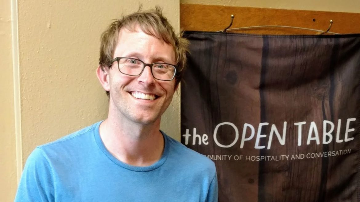 Nick Pickrell oversees a dinner church called The Open Table.