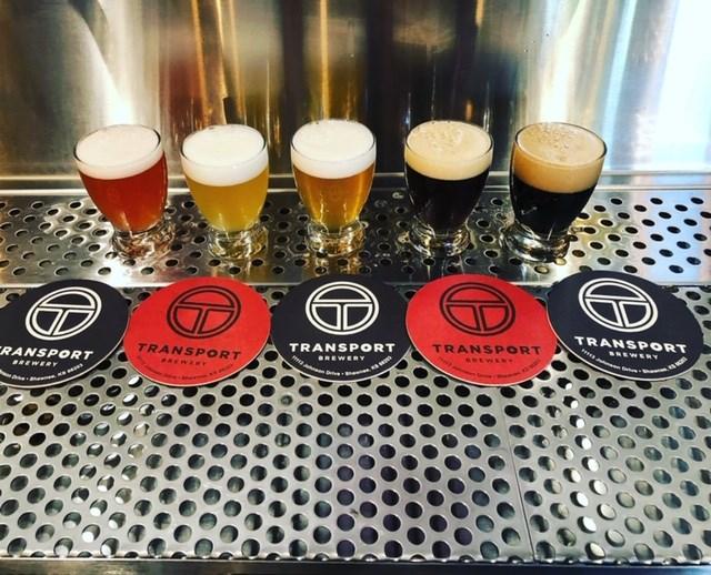 Transport Brewery Beers