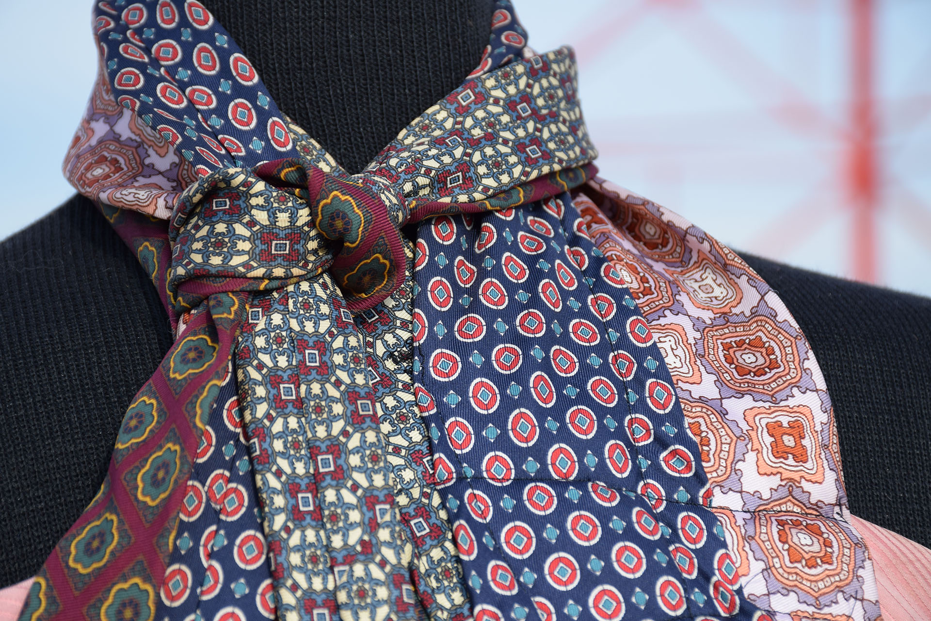 Detail on Tie dress