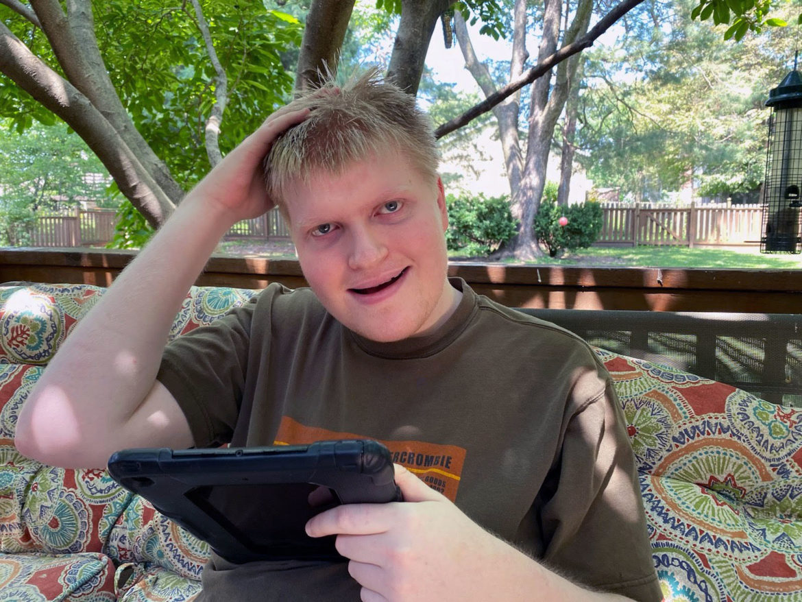 Erik Schaaf, young adult with a disability, mom shares story of living through pandemic