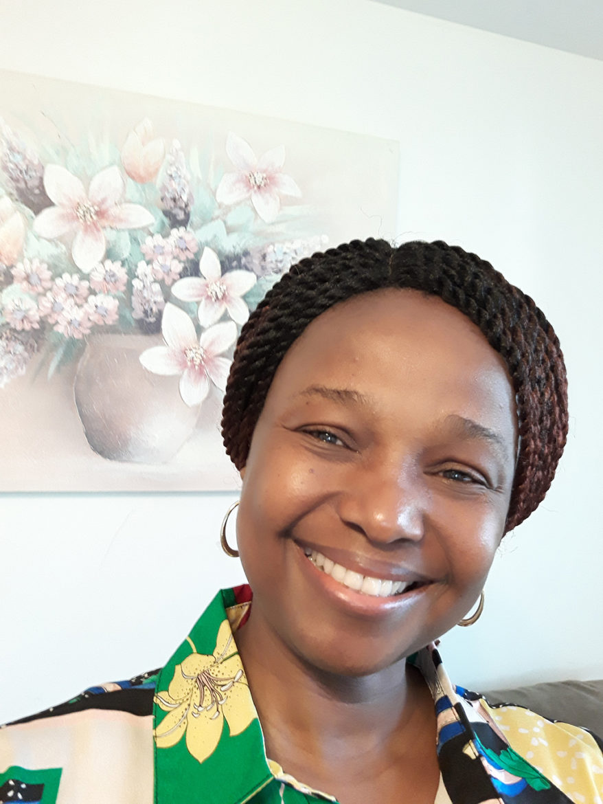Folashade Agusto, lead researcher for RAPID research grant at KU