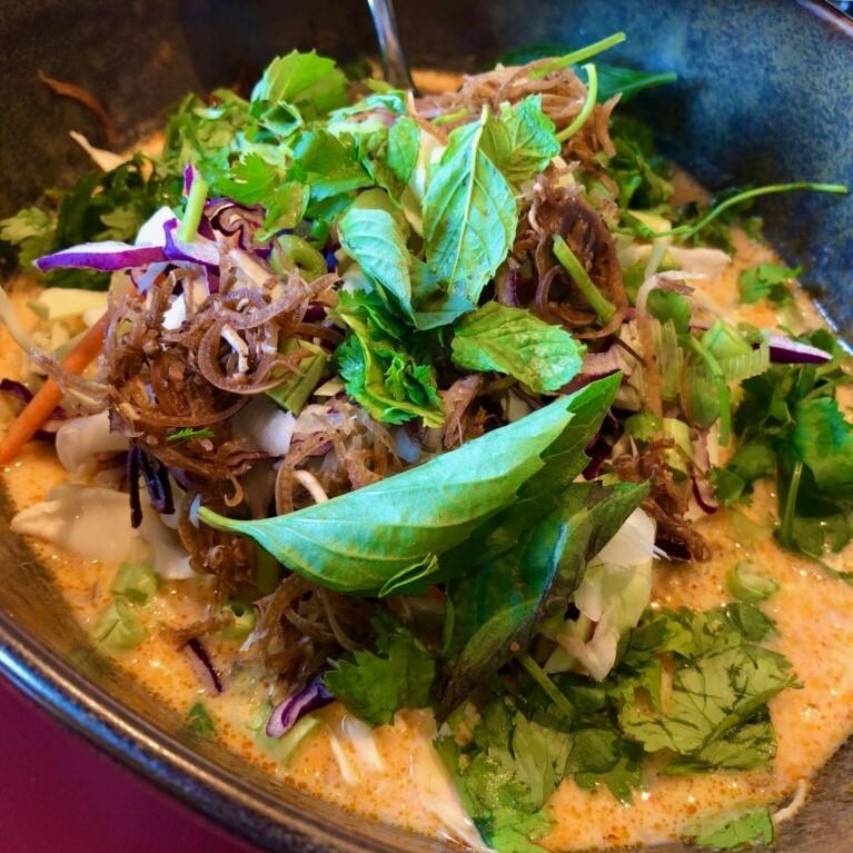Khao poon from Anousone's.