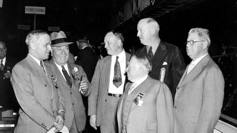 U.S. Senator Harry Truman and Tom Pendergast