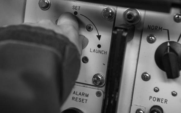 Minuteman II missile launch key
