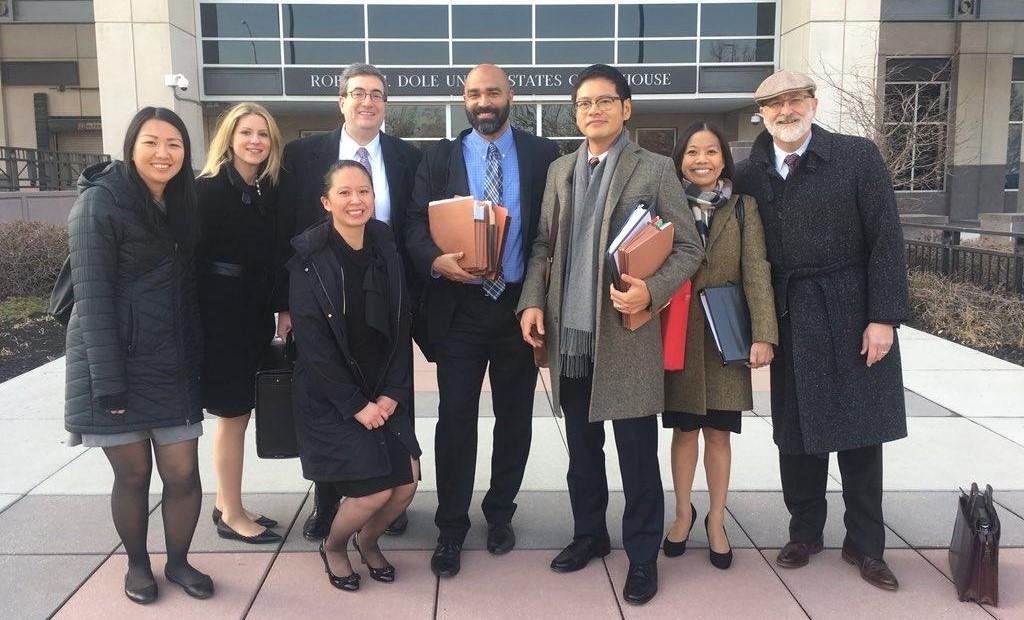 ACLU legal team