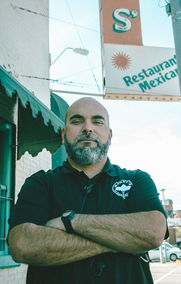David Lopez, general manager of Manny's