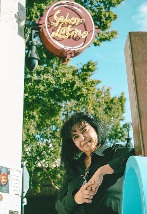 Fanny Ruiz de Chavez owns Sabor Latino, a restaurant in Lee's Summit. (Emily Woodring | Flatland)
