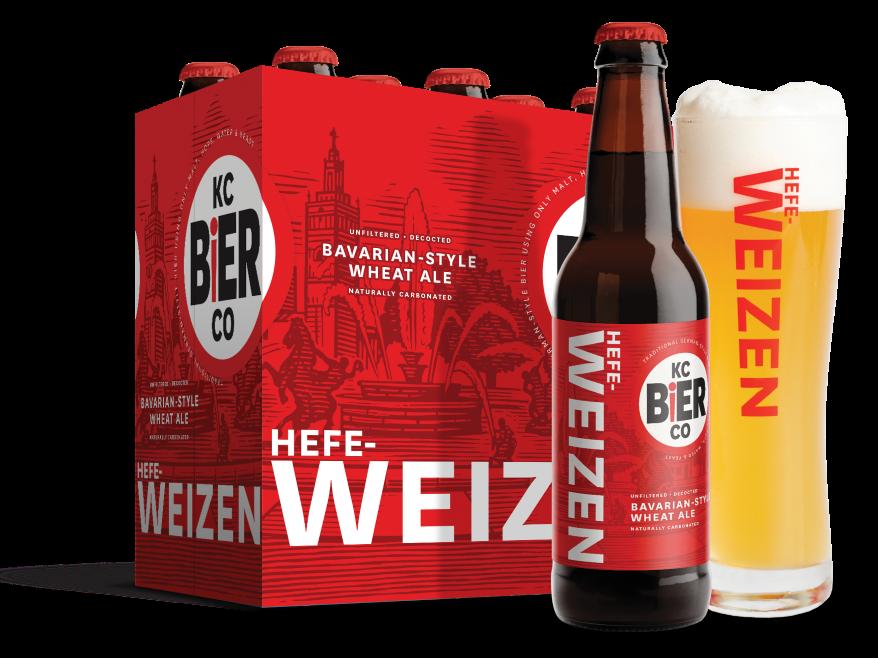 KC Bier Co.'s Hefeweizen