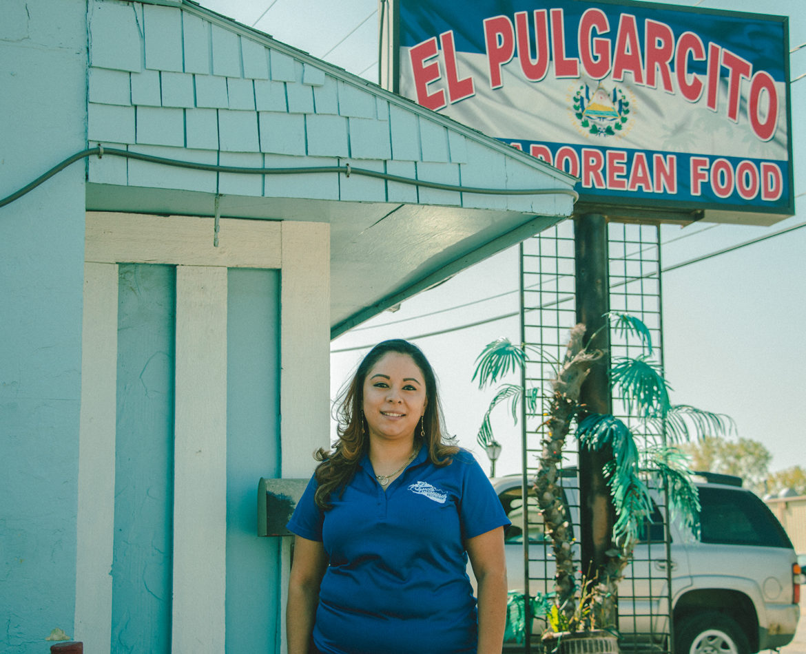 Stacey Ruano, owner of El Pulgarcito