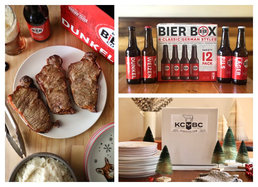 Beef & Bier Box from KC Bier Co. and KC Beef Co.